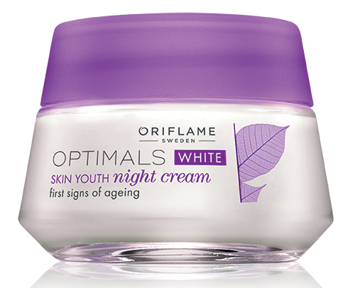 Optimals White Skin Youth Night Cream for Men