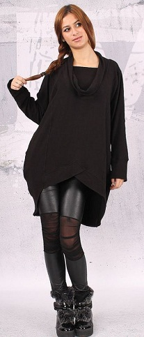 9 Best Black Tunic Tops Designs for Women