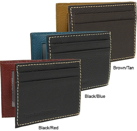 Perry Ellis Flip Clip Front Wallet