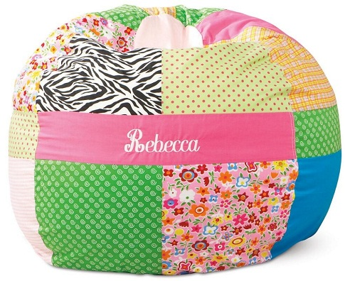 personalized bean bag chair