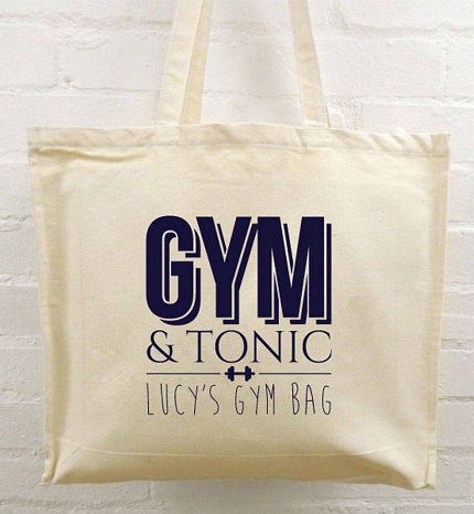 Personalized Gym Bag