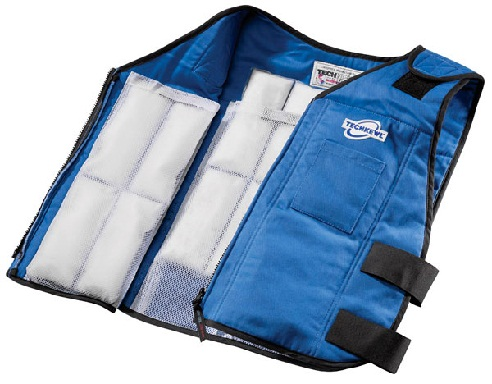 Phase Change Cooling Vest