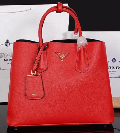 Prada Authentic Bag Red Handbag