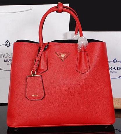 Prada Authentic Bag-Red Handbag
