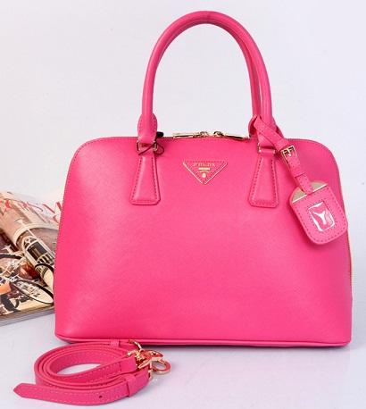 Prada Saffiano Lux Small Promenade Handbag