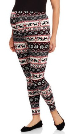 Printed Maternity Legging