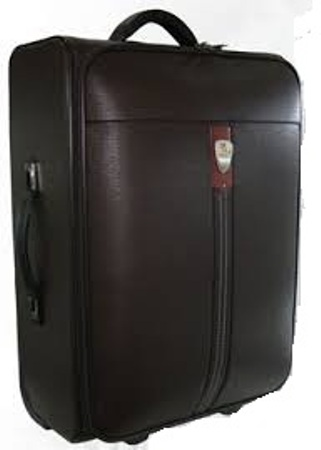 Pure Leather Luggage Bag -12