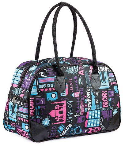 Purple Small Travel Bag for Women -6