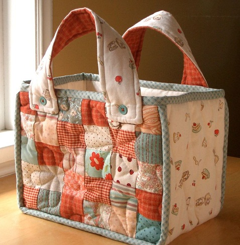 Quilted Handmade Bag