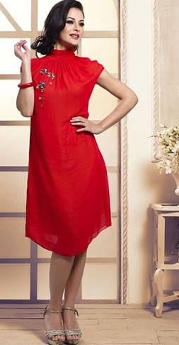 Red Color tunic -14