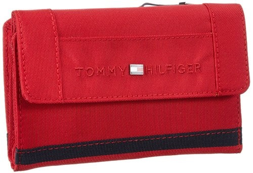 Red with Flaps Tommy Hilfiger Wallets