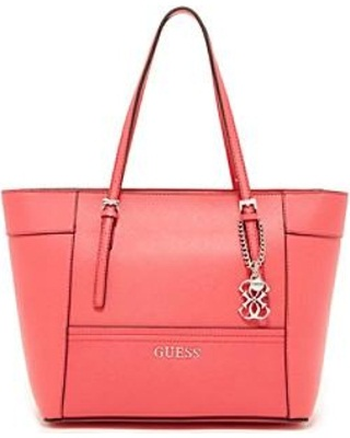 1e53339c43 Simple Guess Handbag in Leather  Simple Leather Handbag