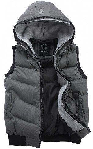 Sleeveless Cap Jacket