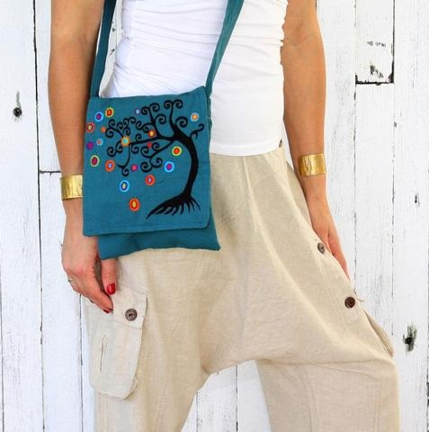 Small Cotton Women Satchels