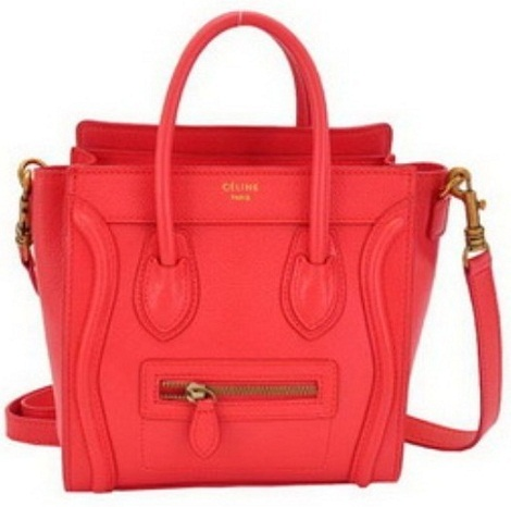 Small Red Tote Style Handbags