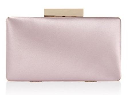 Small Satin Clutch Handbag