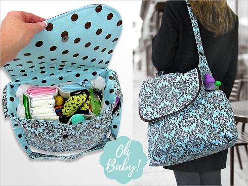 Snap Diaper Bag