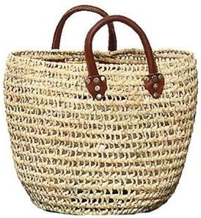 Straw Summer Beach Tote Bags