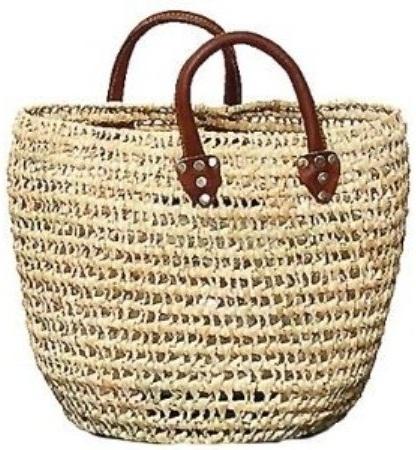 Straw Summer Beach Tote Bags