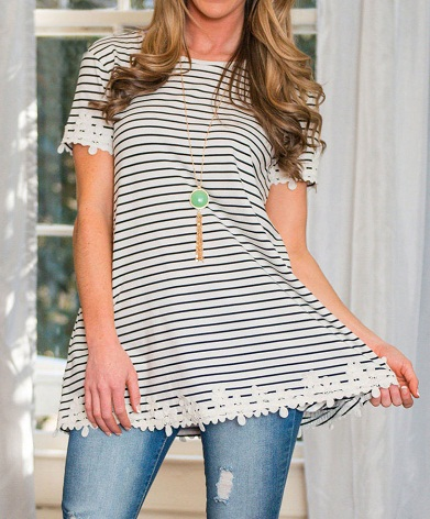 Stripped Tunic