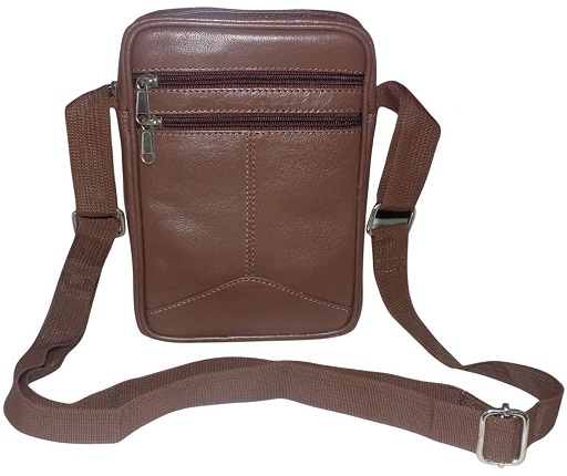 Style98 Genuine Leather Travel Passport Sling Bag -22