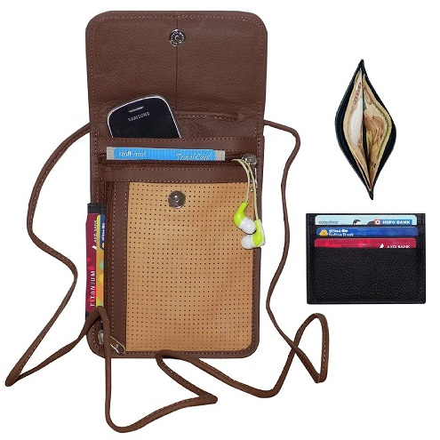 Style98 Unisex Leather Premium Quality Shoulder Bag -23