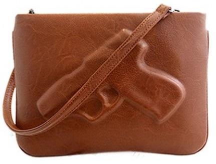 Stylish Brown Colour Cross Body Bag