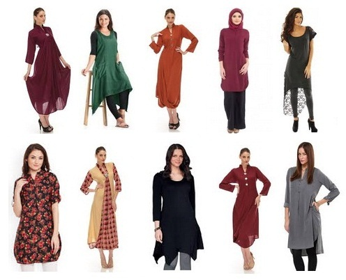 Stylish Long Tunic Tops for Women in India