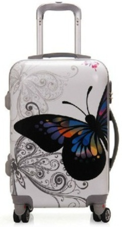 Stylish Suitcase Type Luggage Bags for Girls -3
