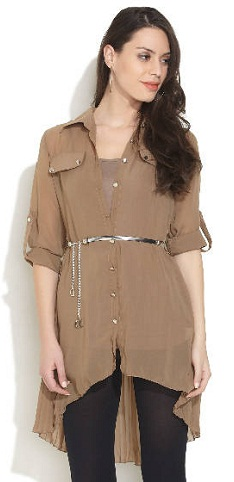 The Belt Party Wear Tunic