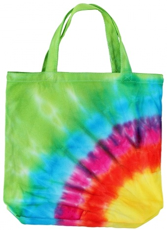 Tie Dye Cloth Bag