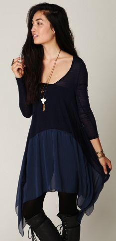 Trapeze Party Wear Tunic