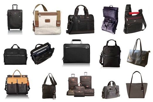 Travel and Business Tumi Bags in Different Models