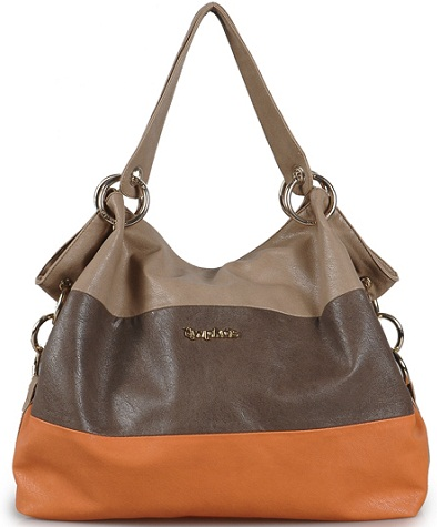 Tri Color Handbag