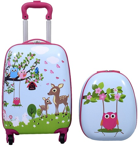 Trolley Bag with Print