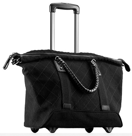 Trolley Handbags with Wheels -4