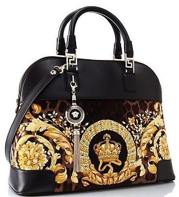 Versace Athena Velvet Handbag