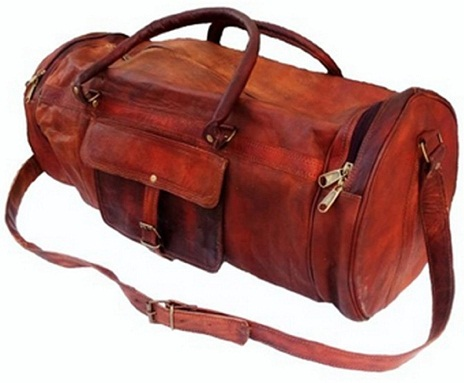 Vintage Duffle Gym Travel Luggage Bag -2