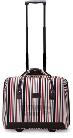Weekend Strips Luggage Bag -15