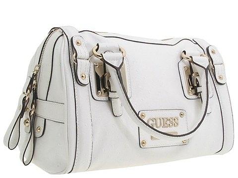 White Luggage Bag