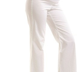 White Maternity Pant