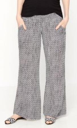 Wide Leg Maternity Pants