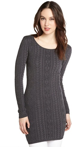 Willow and Clay Sleeveless Open Knit Tunic -19