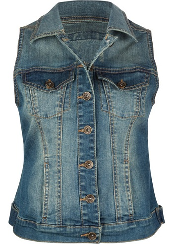 Women Denim Vest