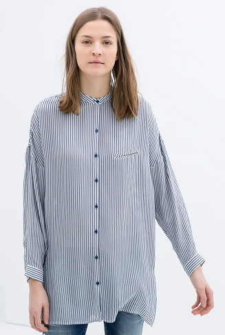 Zara Oversized Shirt -22