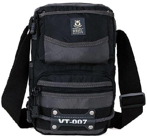 Zip Army Green Travel Bag -12