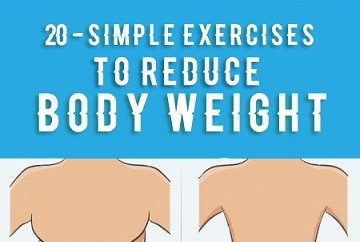 simple exercises to reduce body weight