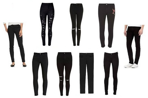 15 Popular Lightweight Black Jeans Fashion in 2017