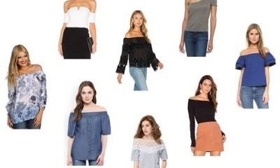 off shoulder tops