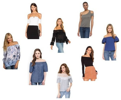 15 Stylish Off Shoulder Tops in Trend for Girls in India